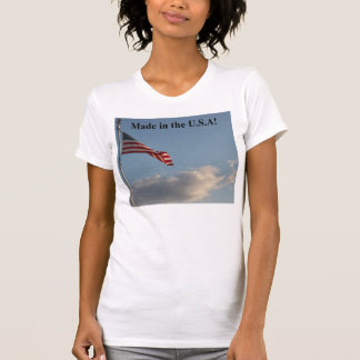 Made in USA Womens T-shirt  D0003