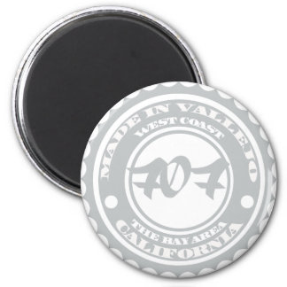 Made in Vallejo 2 Inch Round Magnet