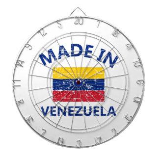 Made in venezuela dartboard with darts