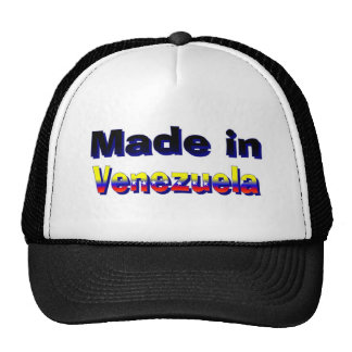 Made in Venezuela hat