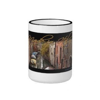 Made In Venice Italy Ringer Mug