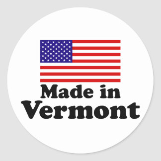 Made in Vermont Stickers