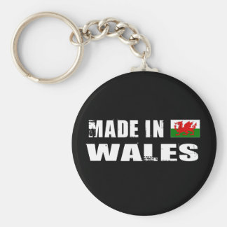 Made in Wales Keychain