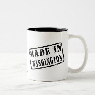 Made in Washington Two-Tone Coffee Mug