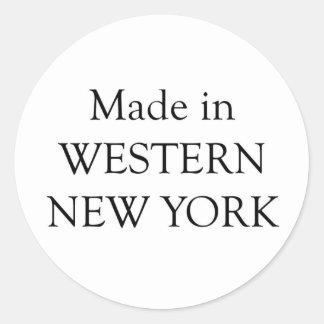 Made in Western New York Classic Round Sticker