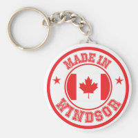 Made In Windsor Keychain