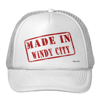 Made in Windy City Mesh Hats