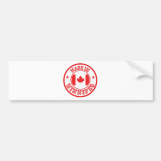 Made In Winnipeg Bumper Sticker