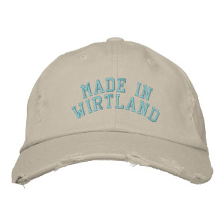 Made in Wirtland Embroidered Hat