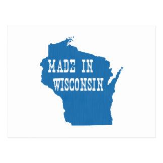 Made In Wisconsin Postcard