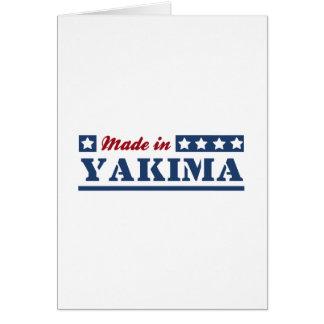 Made in Yakima Greeting Card