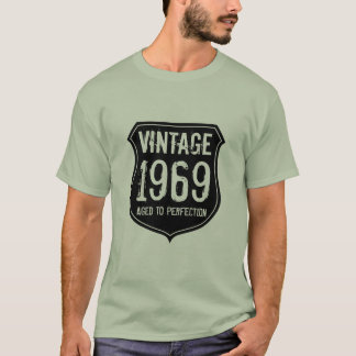 Made in year 1969   aged to perfection t shirt men