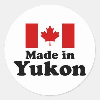 Made in Yukon Classic Round Sticker