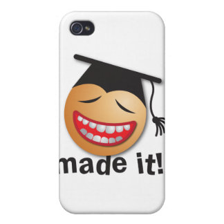 made it graduation cover for iPhone 4