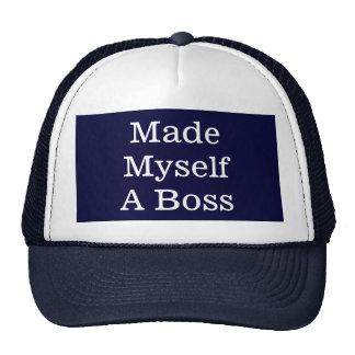Made Myself A Boss Trucker Hat Hat