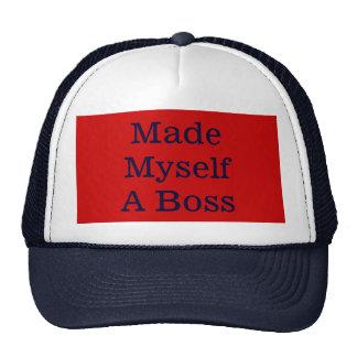 Made Myself A Boss Trucker Hat Trucker Hats