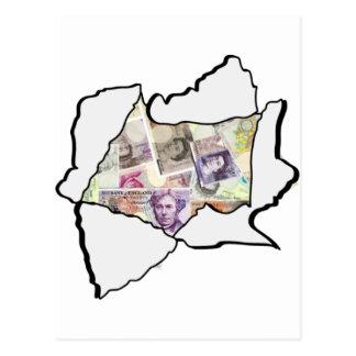 Made of Money Postcard