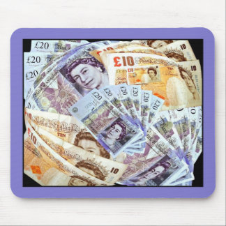 MADE OF MONEY!   (Sterling)   Mousepad