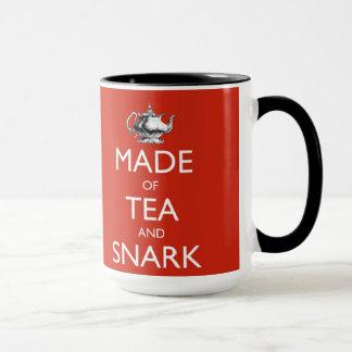 Made of Tea and Snark - 15 oz. Mug
