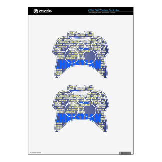 Made of Words CHRISTIAN Xbox 360 Controller Decal