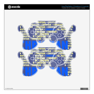 Made of Words CHRISTIAN PS3 Controller Decals
