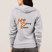 Made Strong MS Warrior Hoodie