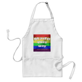 Made This Way Adult Apron
