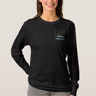 Made UpNorth - - Customized Embroidered Long Sleeve T-Shirt