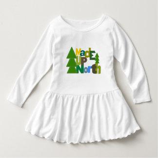 Made UpNorth Up North Girls T-shirt Dress