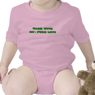 Made with 100% Pure Love Infant Creeper (Onesy)