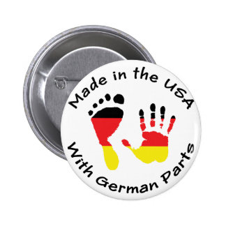 Made With German Parts Pinback Button