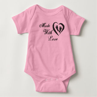 Made With Love Baby Bodysuit