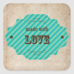 Made With Love - Baked Goodies Stickers