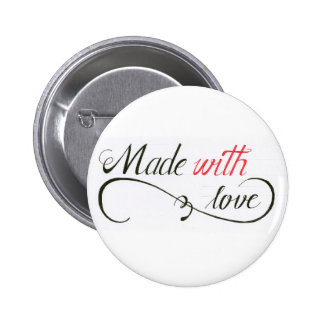 Made with love - Button for Love