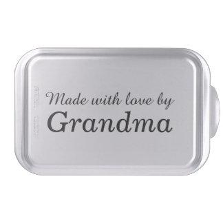 """Made with love by Grandma"" Cake Pan"