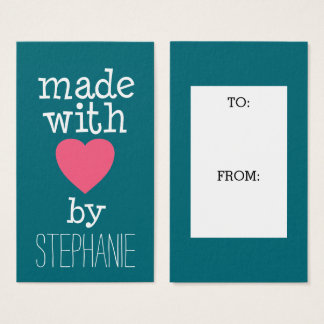 Made With Love By You Business Card