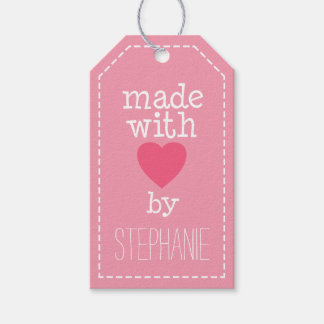 Made With Love By You Pack Of Gift Tags
