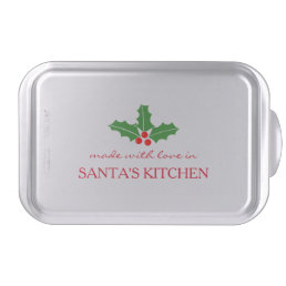 Made with love Christmas Holiday baking cake pan