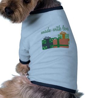 Made With Love Pet T-shirt