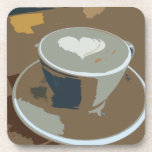 Made with love drink coasters
