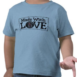 Made With Love Patch Tee Shirts
