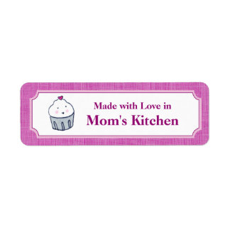 Made with Love Return Address Label