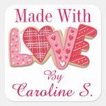 Made With Love Sticker - SRF