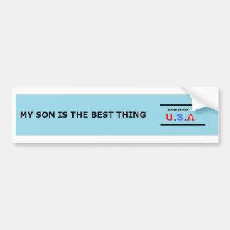 madeinusa(son) car bumper sticker