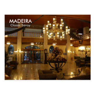 MADEIRA, Classic Savoy Postcards
