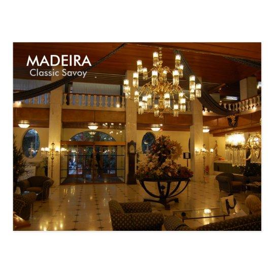MADEIRA, Classic Savoy Postcard