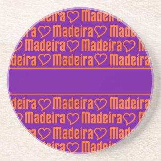Madeira  coaster, customize sandstone coaster