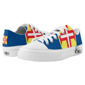 Madeira Flag -.png Low-Top Sneakers