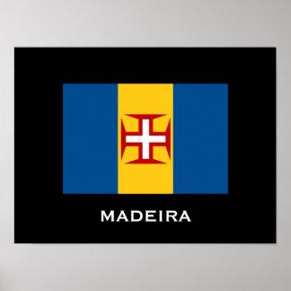 Madeira Flag Poster