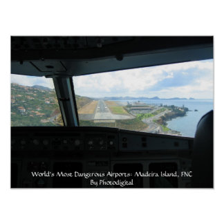 Madeira Island, World's Most Dangerous Airports... Poster